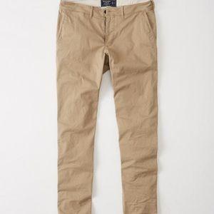 AF Abercrombie & Fitch Khaki Pants